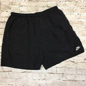 Vintage Nike Black Swim Trunks